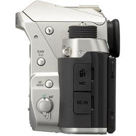 Pentax KP DSLR With HD DA 18-50mm f4-5.6 DC WR RE Lens Kit - Silver Thumbnail Image 4