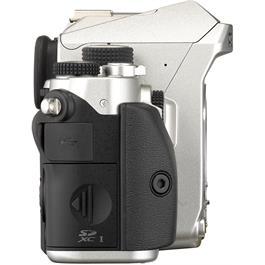 Pentax KP DSLR With HD DA 18-50mm f4-5.6 DC WR RE Lens Kit - Silver Thumbnail Image 5