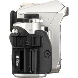 Pentax KP DSLR With HD DA 18-50mm f4-5.6 DC WR RE Lens Kit - Silver Thumbnail Image 6