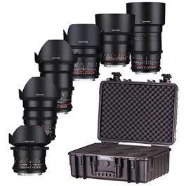 Samyang VDSLR 6 Lens Kit 14/24/35/50/85/135mm for Sony FE thumbnail