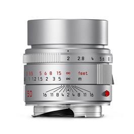 Leica APO-SUMMICRON-M 50mm f/2 ASPH Silver Anodised thumbnail