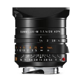 Leica SUMMILUX-M 28mm f/1,4 ASPH Black Anodised thumbnail