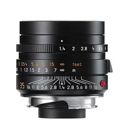 Leica SUMMILUX-M 35mm f/1.4 ASPH FLE Black Anodised thumbnail