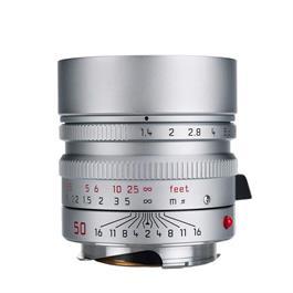 Leica SUMMILUX-M 50mm f/1.4 ASPH Silver Chrome thumbnail