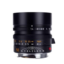 Leica SUMMILUX-M 50mm f/1.4 ASPH Black Anodised thumbnail