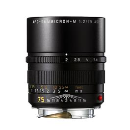 Leica APO-SUMMICRON-M 75mm f/2 ASPH Black Anodised thumbnail