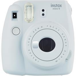 Fujifilm Instax Mini 9 Smoke White Instant Camera + 10 Shots thumbnail