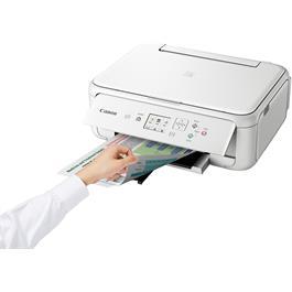 Canon Pixma TS5151 A4 Printer - White Thumbnail Image 3