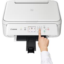 Canon Pixma TS5151 A4 Printer - White Thumbnail Image 5