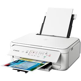 Canon Pixma TS5151 A4 Printer - White Thumbnail Image 8