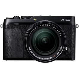 Fujifilm X-E3 Mirrorless Camera With XF 18-55mm Lens Kit - Black thumbnail