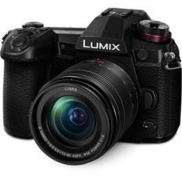Panasonic Lumix G9 Camera + Lumix G Vario 12-60mm f/3.5-5.6 ASPH Power O.I.S Lens Kit