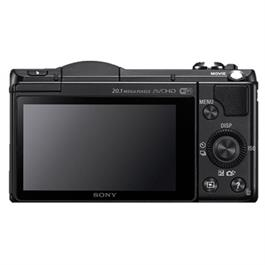Sony A5100 compact system camera + 16-50mm Lens  Black Thumbnail Image 1
