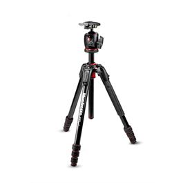 Manfrotto 190go! 4 Section Aluminium Tripod with BHQ2 Ball Head thumbnail