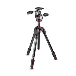 Manfrotto 190 Go! Carbon Fibre Tripod with XPRO 3-Way Head thumbnail