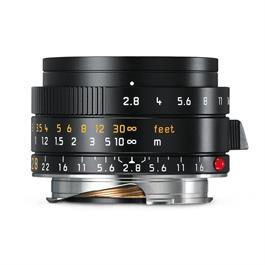 Leica ELMARIT-M 28mm f/2.8 ASPH Black Anodised thumbnail