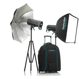 Broncolor Siros 400 L Outdoor Kit 2 WiFi / RFS 2 Flash Head Kit Thumbnail Image 0