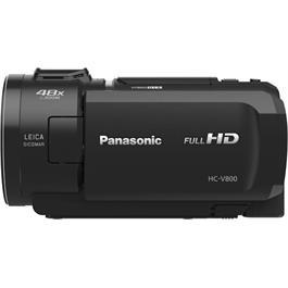 Panasonic HC-V800EB Full HD Video Camera - Black Thumbnail Image 2