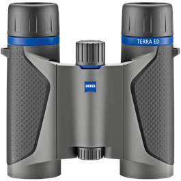 ZEISS Terra ED Pocket 10x25 Binocular - Grey/Black thumbnail