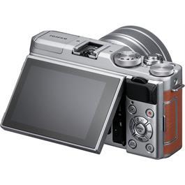 Fujifilm X-A5 Mirrorless Camera With XC 15-45mm Lens - Brown/Silver Thumbnail Image 2
