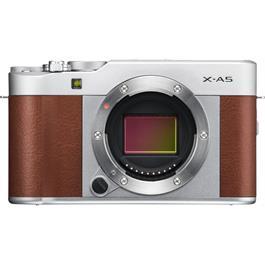 Fujifilm X-A5 Mirrorless Camera With XC 15-45mm Lens - Brown/Silver Thumbnail Image 5
