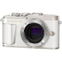 Olympus PEN E-PL9 Mirrorless Camera Body - White Thumbnail Image 1