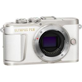 Olympus PEN E-PL9 Mirrorless Camera Body - White Thumbnail Image 2