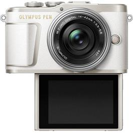 Olympus PEN E-PL9 With 14-42mm EZ Pancake Lens Kit - White Thumbnail Image 3