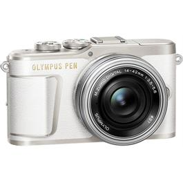 Olympus PEN E-PL9 With 14-42mm EZ Pancake Lens Kit - White Thumbnail Image 2