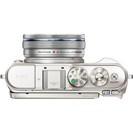 Olympus PEN E-PL9 With 14-42mm EZ Pancake Lens Kit - White Thumbnail Image 5