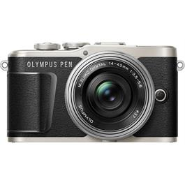 Olympus PEN E-PL9 With 14-42mm EZ Pancake Lens Kit - Black thumbnail
