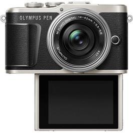 Olympus PEN E-PL9 With 14-42mm EZ Pancake Lens Kit - Black Thumbnail Image 3