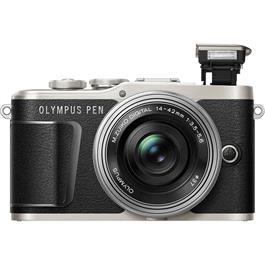 Olympus PEN E-PL9 With 14-42mm EZ Pancake Lens Kit - Black Thumbnail Image 4