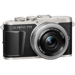 Olympus PEN E-PL9 With 14-42mm EZ Pancake Lens Kit - Black Thumbnail Image 1