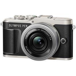 Olympus PEN E-PL9 With 14-42mm EZ Pancake Lens Kit - Black Thumbnail Image 2