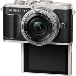 Olympus PEN E-PL9 With 14-42mm EZ Pancake Lens Kit - Black Thumbnail Image 5