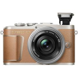 Olympus PEN E-PL9 With 14-42mm EZ Pancake Lens Kit - Brown Thumbnail Image 4