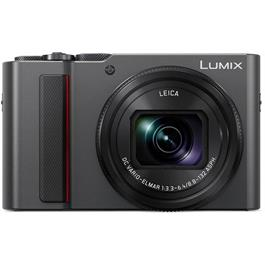 Panasonic Lumix TZ200 Compact Camera - Silver thumbnail