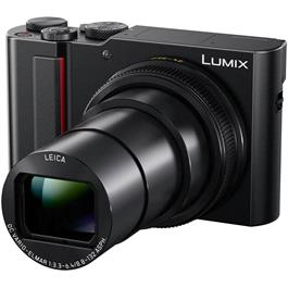 Panasonic Lumix TZ200 Compact Camera - Black Thumbnail Image 3