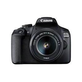 Canon EOS 2000D Digital SLR Body With EF-S 18-55mm IS II Lens Kit Thumbnail Image 0
