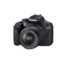 Canon EOS 2000D Digital SLR Body With EF-S 18-55mm IS II Lens Kit Thumbnail Image 2