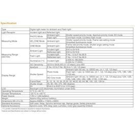 Sekonic L-308X Flashmate Light Meter Thumbnail Image 9