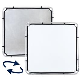 Lastolite Skylite Rapid Fabric Small 1.1 x 1.1m Silver/White - LL LR81131R thumbnail