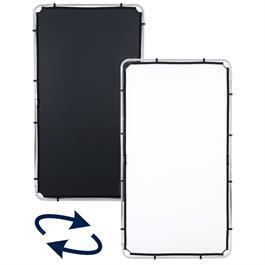Lastolite Skylite Rapid Fabric Medium 1.1 x 2m Black/White - LL LR81221R thumbnail