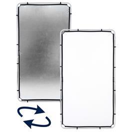 Lastolite Skylite Rapid Facric Medium 1.1 x 2m Silver/White - LL LR81231R thumbnail