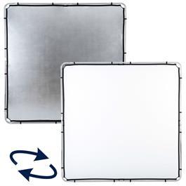 Lastolite Skylite Rapid Fabric Large 2 x 2m Silver/White - LL LR82231R thumbnail