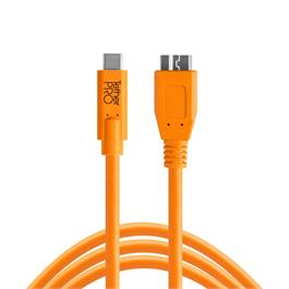 Tether Tools TetherPro USB-C to 3.0 Micro-B Orange thumbnail