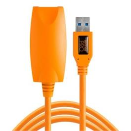 Tether Tools TetherPro USB 3.0 Active Extension, 16', Hi-Visibility Orange thumbnail