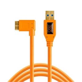 Tether Tools TetherPro USB 3.0 to Micro-B Right Angle 15 foot, 4.6m thumbnail