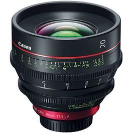 Canon CN-E20mm T1.5 L F Prime Cine Lens thumbnail
